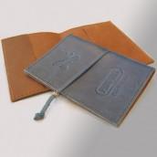 כיסוי דרכון מעור - מלכיאור